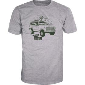 Alprausch Monte-Verdi T-shirt Heren, grey melange